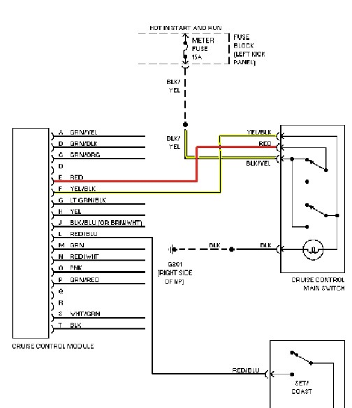 wiring diagram in addition cruise control module location wiring rh abetter pw