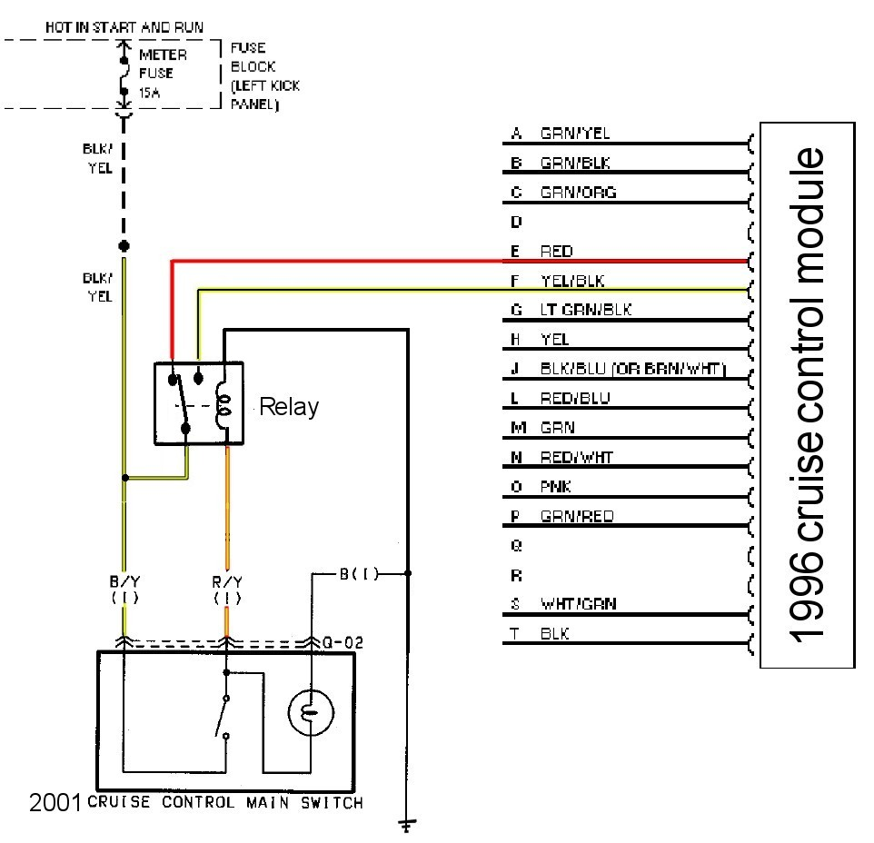 using this modified wiring diagram,