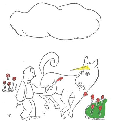 unicorn garden thurber Peter beagle owes much of his career to a unicorn — specifically, the  the plot  gently recalls james thurber's the unicorn in the garden,.